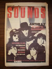 SOUNDS 1987 NOV 14 ANTHRAX LL COOL J UB40 BOMB PARTY