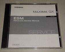 Werkstatthandbuch auf CD Nissan Maxima QX A33 Stand 09/2002
