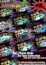 "(SALE) Wangan Maximum Tune 3DX+ ""DressUp 36700star 19800coin 825hp 63Lv card"