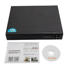 New 2-in-1 8CH HD 1080P HDMI H.264 CCTV Security AHD DVR System iPhone Android