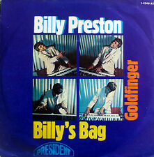 "7""1969 INSTRUMENTAL RARE VG++ BILLY PRESTON Billy´s Bag"