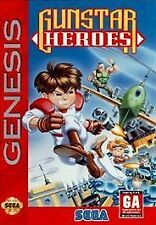 Gunstar Heroes Sega Genesis Game Complete CIB Tested