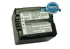 7.4V battery for Panasonic VW-VBD140, CGA-DU14A, VDR-M95, NV-GS280EG-S, CGA-DU14