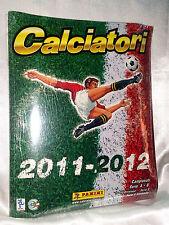 ALBUM CALCIATORI SIGILLATO BLISTER PANINI 2011 - 2012 FULL SET COMPLETO FIGURINE