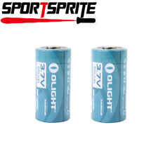 Olight 16340 RCR123A 3.7V Rechargeable Li-ion Battery (Pair) for S10, M10 etc