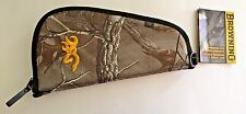 "BROWNING shooting hunting plainsman pistol rug firearm case 13"" NEW RTX"