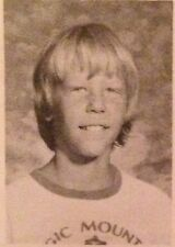 James Hetfield 1974-75 East Middle School Yearbook Metallica