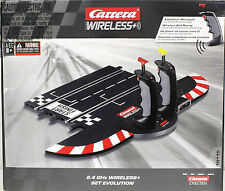 CARRERA 10115 EVOLUTION 132 WIRELESS 2.4 GHz CONTROLLER SET 1/32 & 1/24 SLOT CAR