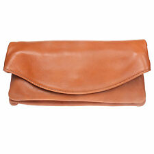 Ladies Colourful Clutch Real Leather Adjustable Long Strap Womens Shoulder Bag