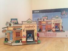 Carole Towne Village Collection - SANFORD'S GARAGE -  2012 Lemax Dept 56  MINT!