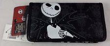 The Nightmare Before Christmas Jack Pinstripe Snap Wallet Clutch Tote Billfold