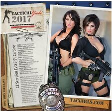 Tactical Girls Wall Calendar