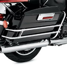 Twin Rail Style Hard Bags Guard Rails - 1997-2008 Harley Davidson Road King