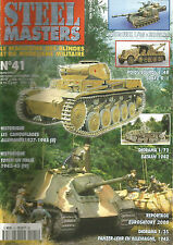 STEEL MASTERS N° 41 CAMOUFLAGE ALLEMAND 37-45/ SDKFZ 9/1 / MARQUAGE ALL EN ITALI