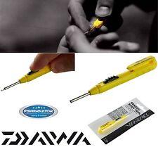 Daiwa Sokkou Knoten Tool - Schnurverbinder 10cm gelb-einfach, schnell und leicht