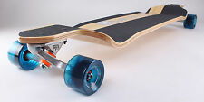 "Drop Down 40"" x 9"" Canadian maple longboard skateboard"