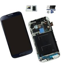 Samsung Galaxy S4 i337 M919 Blue Replacement+ Frame LCD Digitizer Screen Display
