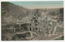 The Gallery, Penrhyn Slate Quarries Postcard, B389