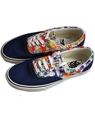 VANS Era (MLX) Marble 2 Tone Multicolour Canvas Shoes Sz 8.5 UK 42.5 EUR