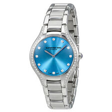 Raymond Weil Noemia Blue Dial Diamond Ladies Watch 5132-STS-50081