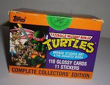 Topps Set of 110 Teenage Mutant Ninja Turtles TMNT Collectors Edition Cards Box