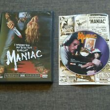 DVD MANIAC - JOE SPINELL - CAROLINE MUNRO - WILLIAM LUSTIG - 88 MIN - RARE