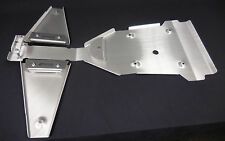 KAWASAKI KFX700 FULL FRAME SKID PLATE & A-ARM PLATE GUARD SET .125 Thick