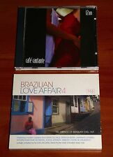 2x LATIN CHILL OUT CD Lot CAFE CANTANTE & BRAZILIAN LOVE AFFAIR 4 Lounge Jazz