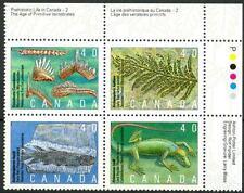 CANADA - 1991 - La vita preistorica (II): i fossili