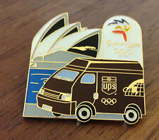 UPS Truck and Opera House Sydney 2000 Olympic Sponsor Pin