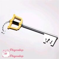 Anime Kingdom Hearts Sora Kingdom Key Keyblade Cosplay Weapon Prop 95.5 cm High