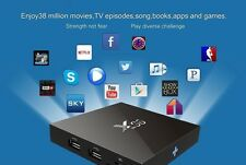UNLOCKED 4K X96 16G S905X FREE STREAMING Android 6.0 Smart TV BOX Vs FIRE STICK