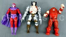 Marvel X-Men Robot Wolverine Magneto & Juggernaut Action Figure ToyBiz 1991 Hero