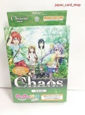 20667 AIR Chaos TCG Booster Pack Non Non Biyori Trial Deck from JAPAN