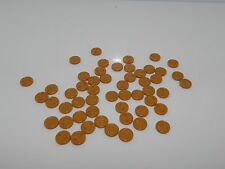 Lego Minifigure Lot Of 50 Pearl Gold Coins