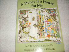 Kids fun paperback gr k-3:A House is a House for Me-rhyming different houses!