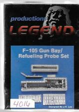 Legend Productions F-105 Gun Bay, Refueling Probe Upgrade 1/48 4816