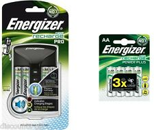 Energizer ProCharger AA/AAA Battery Charger + 8 AA Rechargeable Batteries