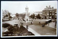 UK~ENGLAND ~ 1930's SKEGNESS ~ Clock Tower and Lumley Road ~ CINEMA ~ RPPC