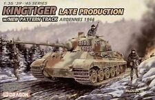 "Dragon 6232 1/35 German King Tiger Late Production ""Ardennes 1944"""