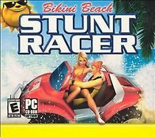 Video Game PC Bikini Beach Stunt Racer (PC, 2003) NEW SEALED Jewel
