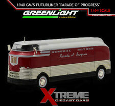 "GREENLIGHT 29832 1:64 1940 GENERAL MOTORS FUTURLINER ""PARADE OF PROGRESS"""