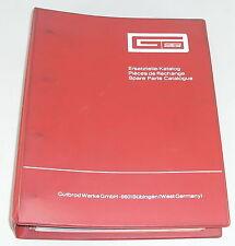 Teilekatalog / Ersatzteilliste / Parts List Gutbrod Rasenmäher + Mähwerke
