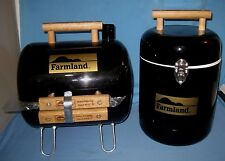 NEW Handi-boy Portable Charcoal Grill/Cooler Farmland Advertising BBQ Tailgating
