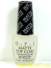 OPI Matte Top Coat 15ml/0.5.oz Natural Nail Polish NT T35- Matte Top Coat