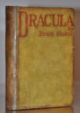 THE SCARCE FIRST STATE OF THE 1ST/1ST UK EDITION ~ DRACULA ~BRAM STOKER