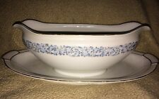 Sheffield Aichi CHINA MADE OCCUPIED JAPAN Gravy Boat Plate Underplate Attached