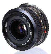 Minolta MD Lens 35 mm F=1:2.8 Mount Minolta MD  (Réf#B-022)