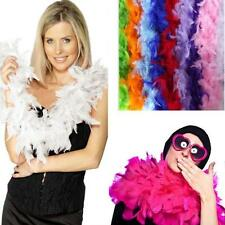 dark blue 2M Feather Boa Strip Fluffy Craft Costume Fancy Dress Party Decoration