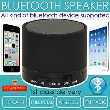 Inalámbrica Portátil Bluetooth Mini Altavoz Micrófono Para Iphone Ipad Tablet Mp3 Reino Unido Stock